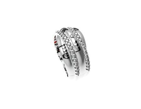 תכשיטי שמות טבעת חותם לאישה זהב לבן
